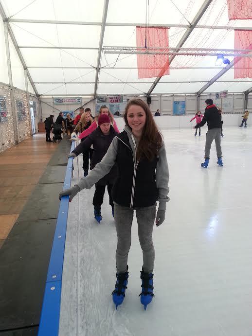 Aimee skating