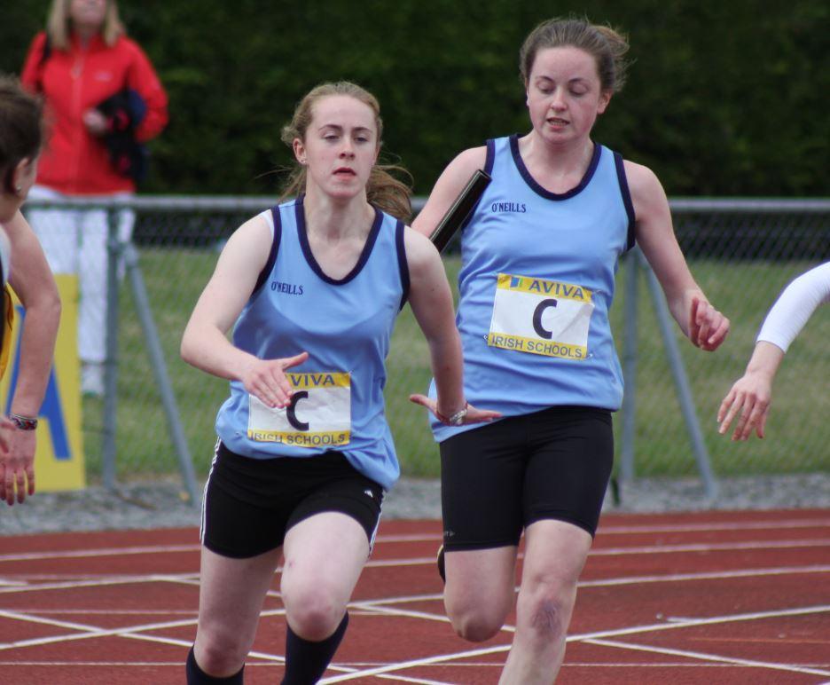 Megan Coomber schools relay