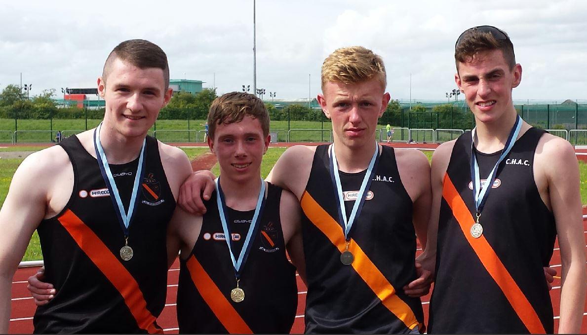 Clonliffe medal winners