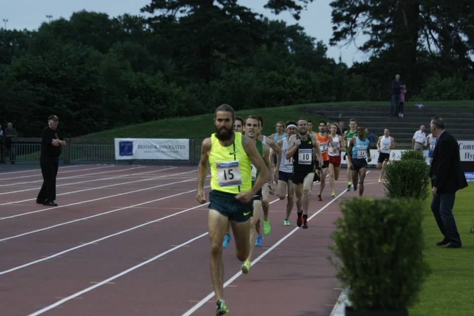 Morton Mile 2014 finish