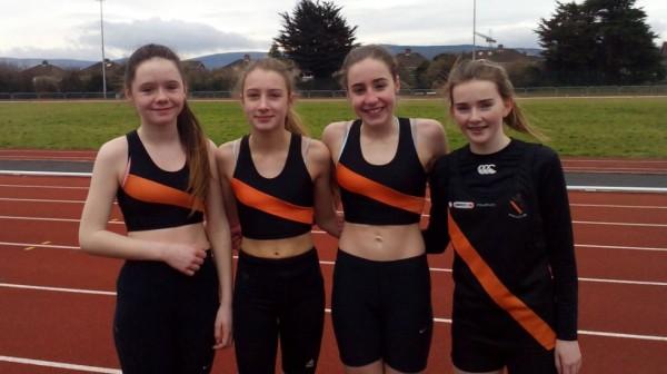 U14 girls Dublin indoor