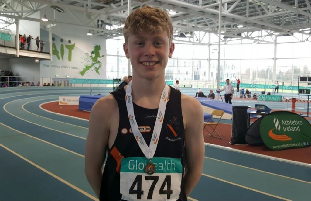 Cian Bolger national indoors